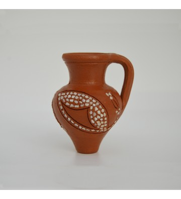 Stoned pottery magnet -...